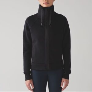 Lululemon Kick The Cold Jacket In Black Sz 6